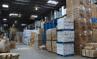 Inside look at a McKenna Logistics Warehouse