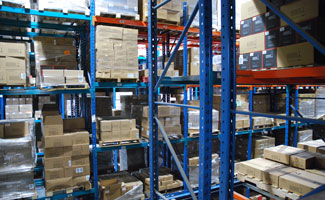 Inside a McKenna Logistics Warehouse