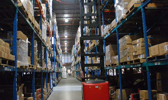 inside look at a McKenna Logistics Centre Warehouse
